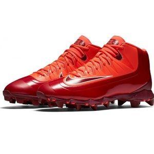 Nike kids huarache red baseball cleats 807138